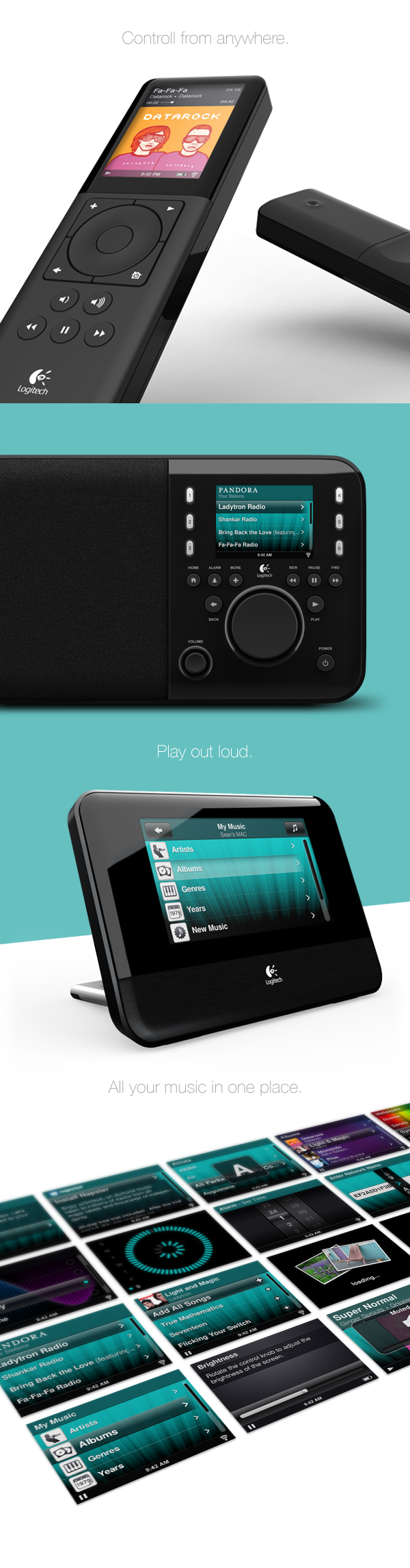 interaction design UI visual design ecosystem wireless brand ux application product touch