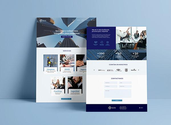 Sastre Solutions - Branding y Web responsive