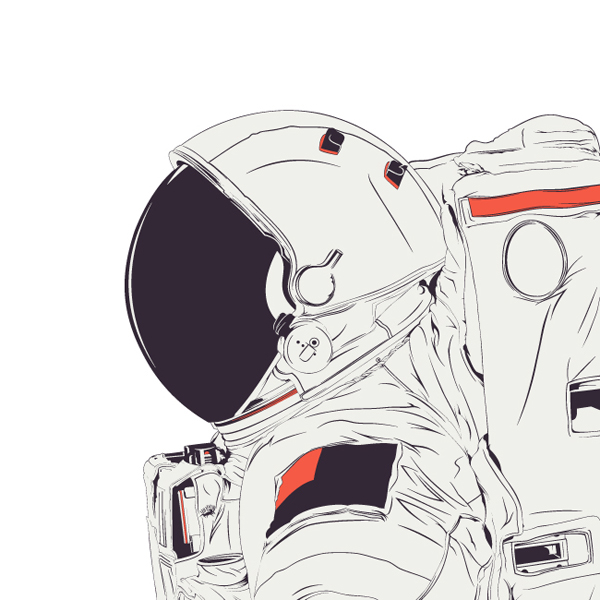 astronaut design - photo #14