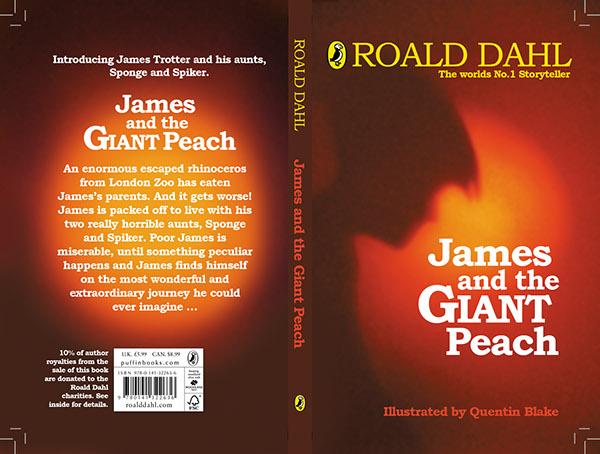james and the giant peach roald dahl cover design on student show giant peach roald dahl cover design