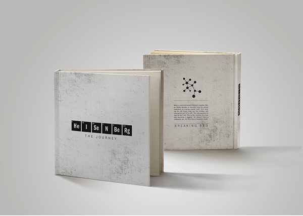 Heisenberg coffee table book design on behance for Coffee table book ideas
