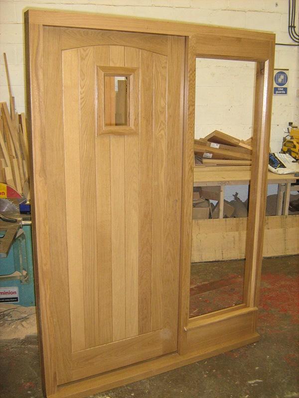 woodworking european oak door hardwood Hardwood door Front Door Joinery Carpentry oak