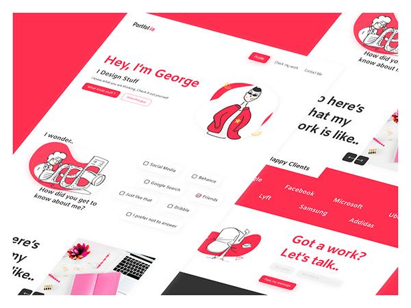 Portfolio Template - UI Design