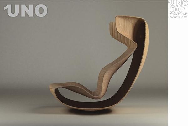bent wood bent laminate wood Lounge Chair