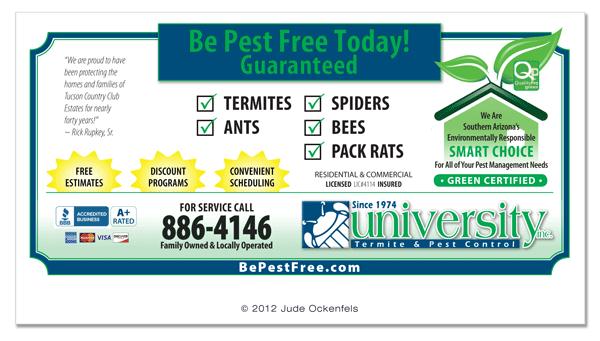 Pest Control Services: Pest Control Services Brochure
