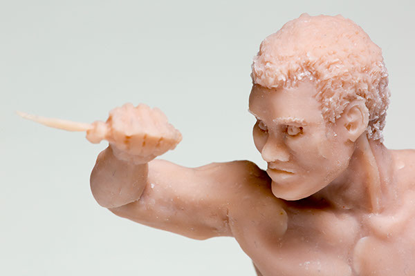 sculpture knife Attack guy sculpey Dynamic