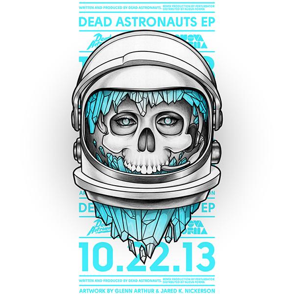 Dead Astronauts EP on Behance