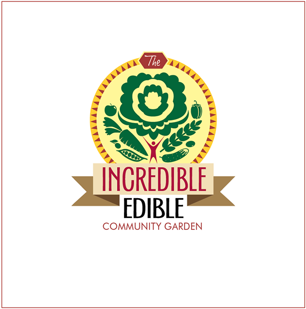 Community Garden Logo images