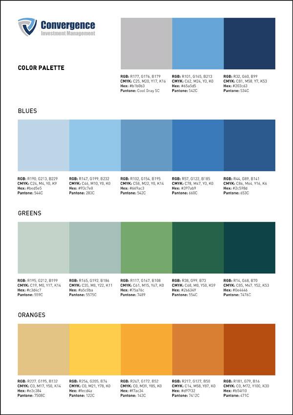 豐富的25套顏色搭配欣賞