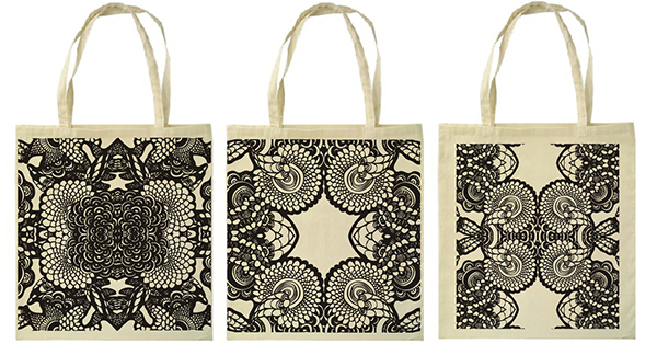 Screen Printed Canvas Bags on Behance