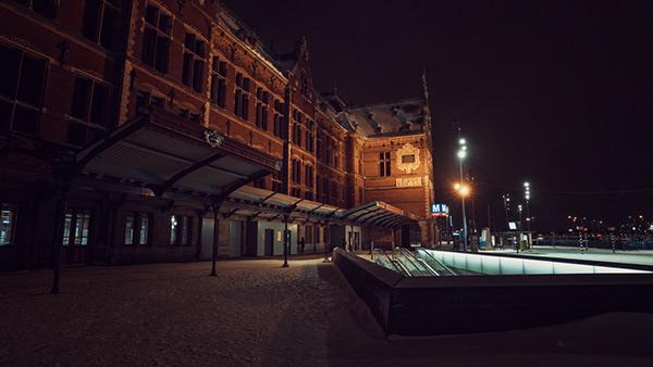 Curfew in Amsterdam