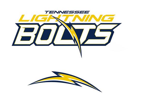 Tennessee Lightning Bolts Football Logo On Behance