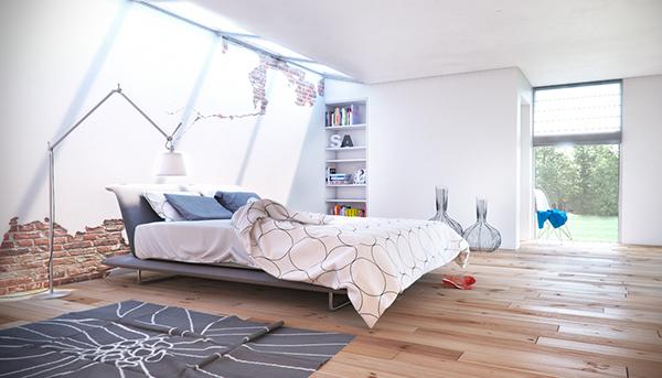 d restyling  slaapkamer on behance, Meubels Ideeën