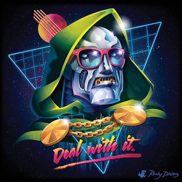 80 s villain pop album covers on behance