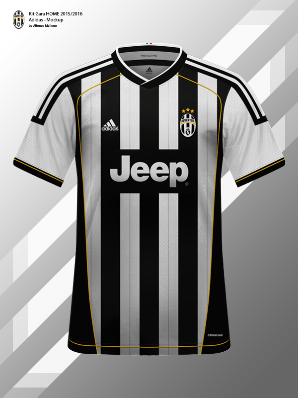 new concept 0c6e0 15a1a Juventus FC Kit Gara 2015/2016 - Adidas - Mockup on Behance