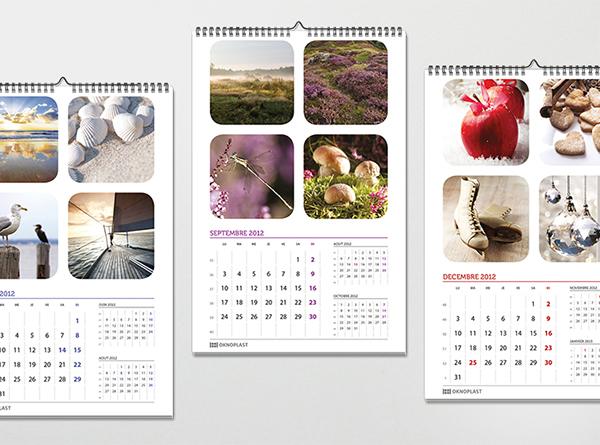 calendar oknoplas foto photos winter spring summer autumn color
