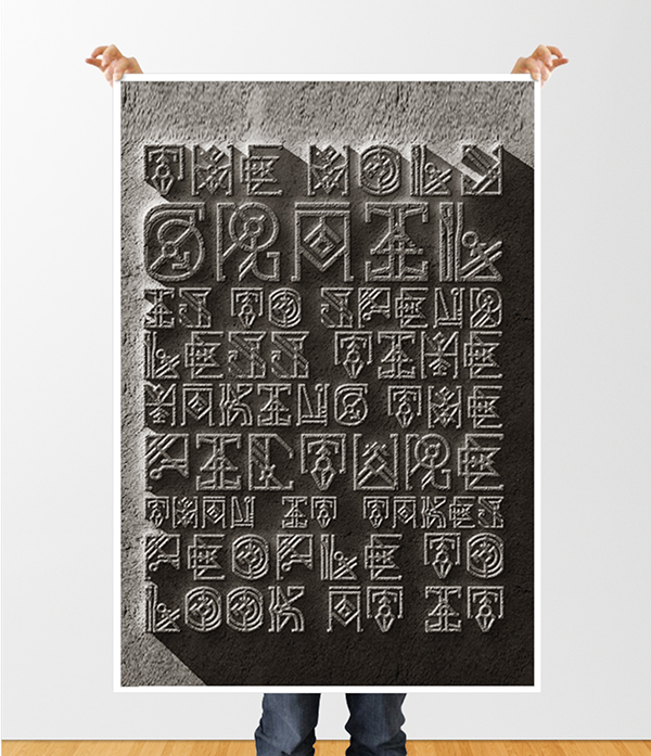 font Hieroglyphics type complex write typeset Typeface crazy India indian native american patter text