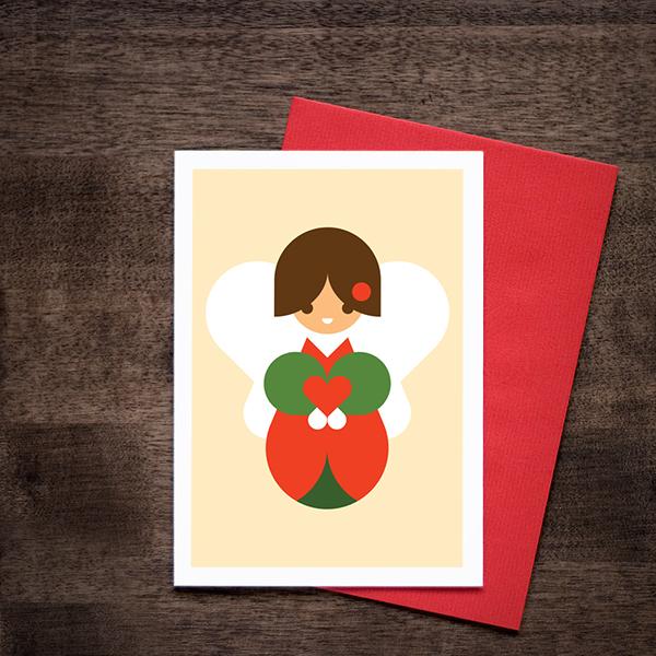 優質的34個聖誕卡片設計欣賞