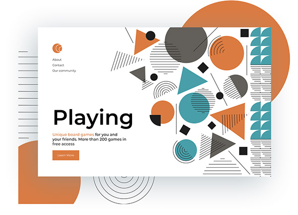Board games website