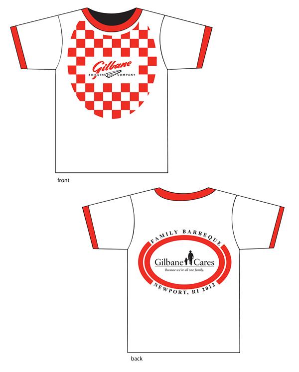 Graphic design for gilbane on risd portfolios for T shirt printing providence ri