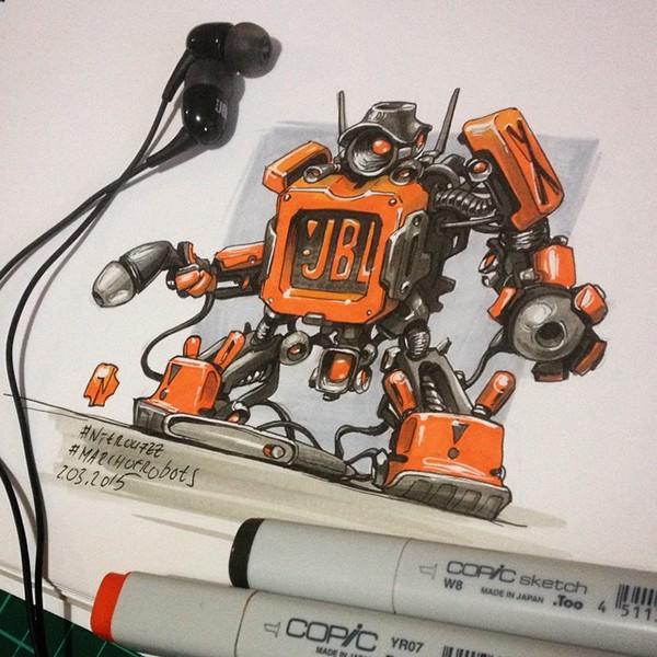 Pt.1 #MarchOfRobots 2015 by Nitrouzzz  by Andrey Pridybaylo