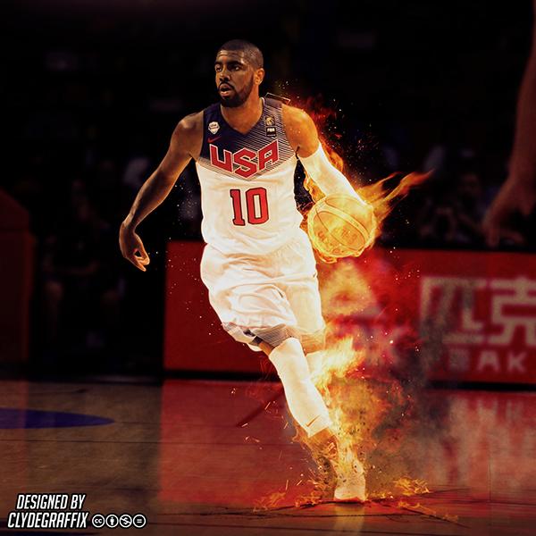 Kyrie Irving Wallpaper: Kyrie Irving 'FIBA World Cup MVP' On Behance