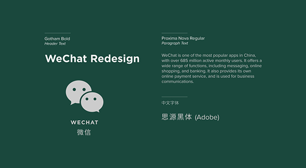 WeChat Redesign on Behance