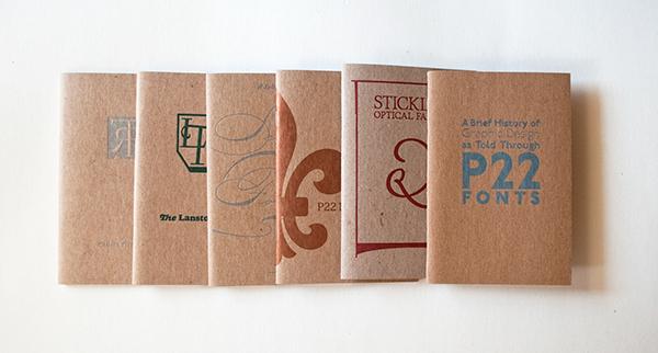type specimens booklets chapbooks letterpress