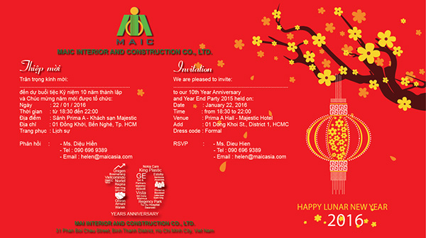 New year party ho chi minh city vietnam 2016 on wacom gallery invitation card option 3 stopboris Choice Image