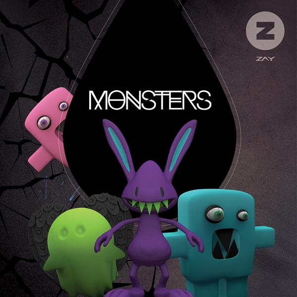 monsters edm cover Album
