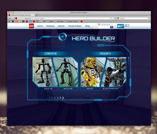 hero factory xxxxx игры-со1