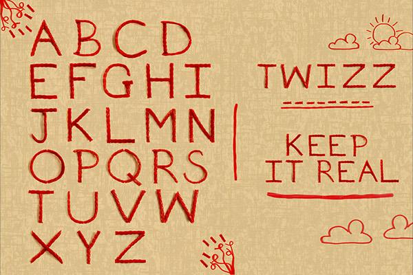 Twizzler Typeface on Behance