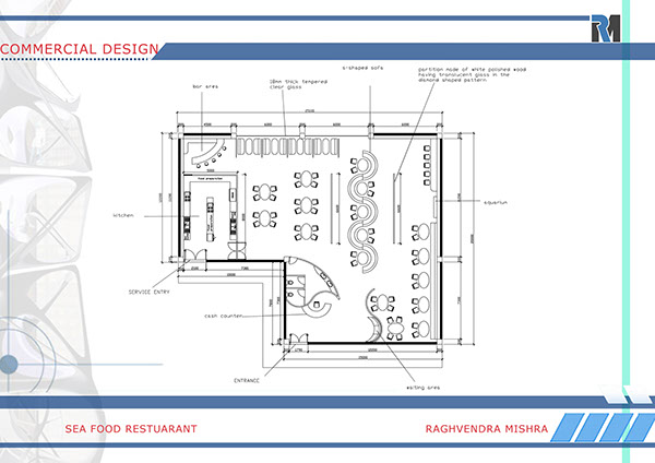 Restaurant Design Layout Ideas - World Sound