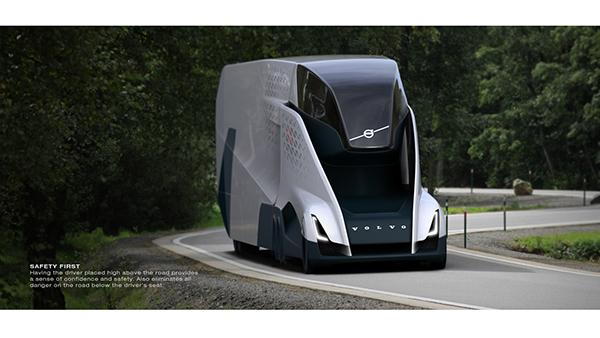 2040 Volvo VNL - Exterior on Behance