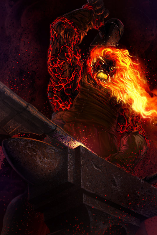 neverwinter fire giant - photo #8