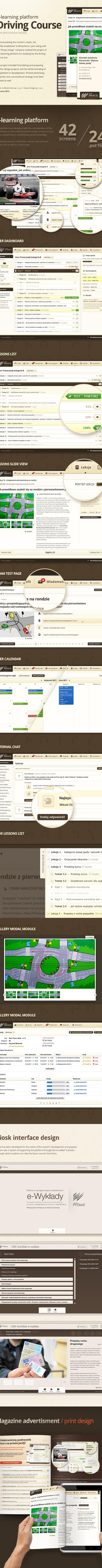 Webdesign,webapp,UI,Platform,eLearning,drivinglicense,rzmota