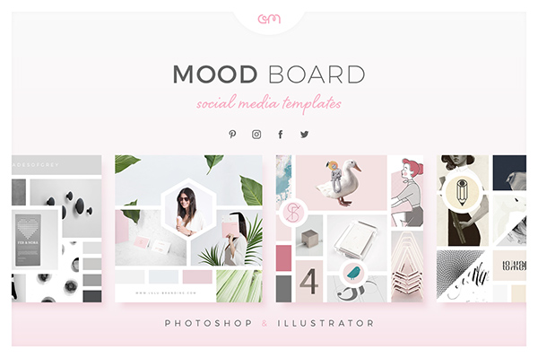 Mood Boards For Social Media On Behance