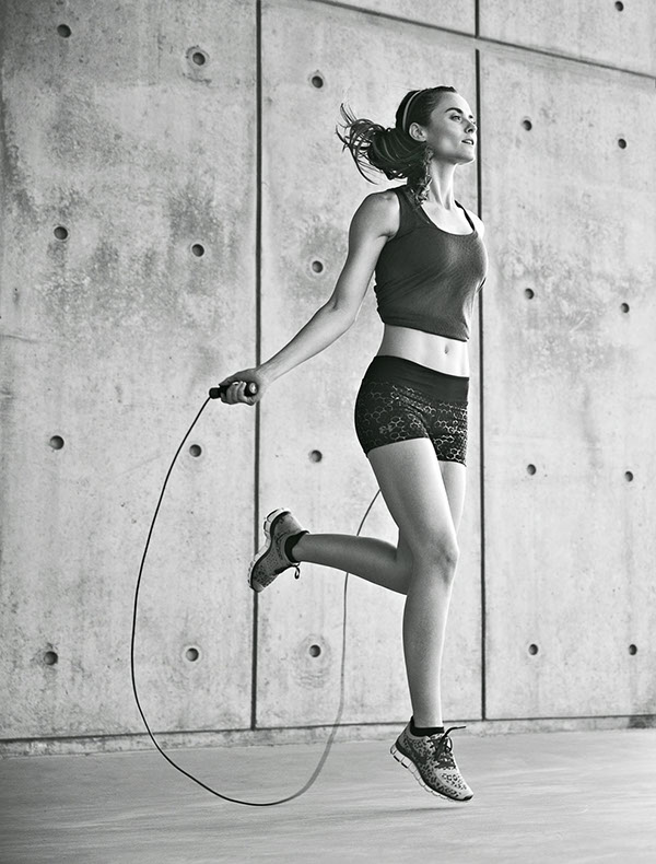 fitness sports matt hawthorne action weights women jump rope Yoga
