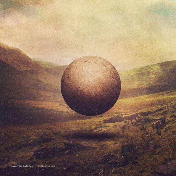 ball floating Landscape vintage