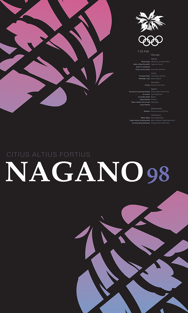 graphic,design,Olympics,poster,Nagano,algorithm