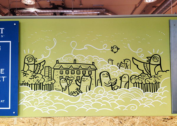 Whole Foods Market Murals On Behance