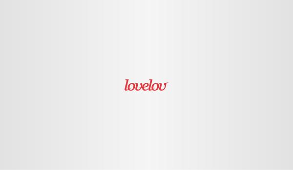 Love logo design lovelov Radek blaska designer brand
