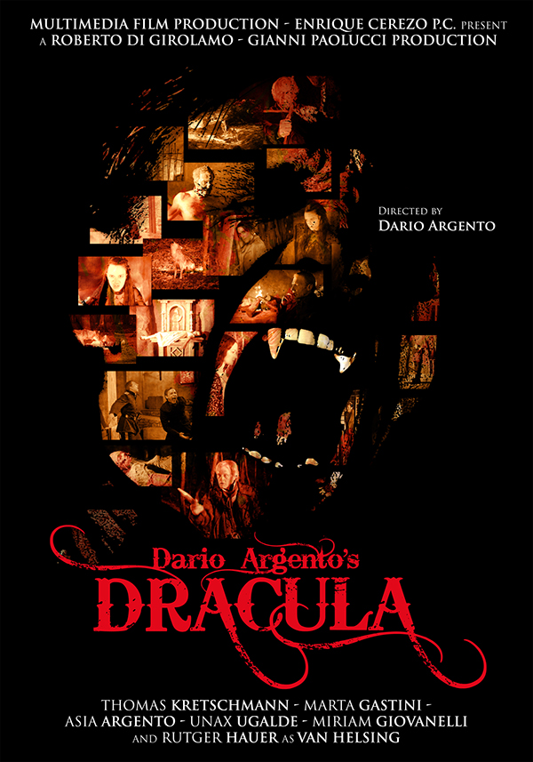 Dracula - Movier Poster Dario Argento on Behance