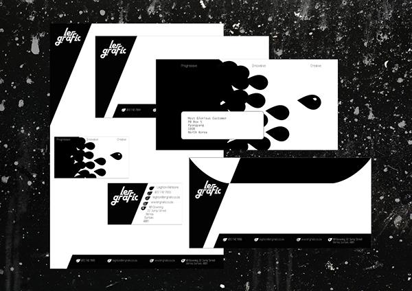 leighton rathbone self branding design clean contemporary progressive minimalist Innovative futurist