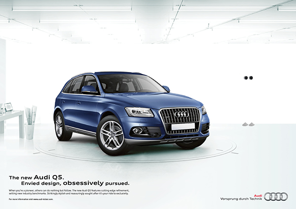 the new audi q5 envied design obsessively pursued on behance. Black Bedroom Furniture Sets. Home Design Ideas