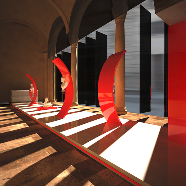 Fidi Interior Design Courses In Florence Italy An: Loggia Dei Rucellai On Behance