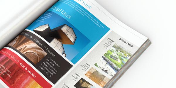 maquette, mise en page, magazine, couverture, graphiste, lozère, cévennes, julie mercey