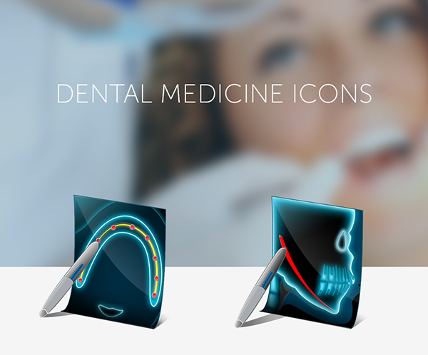 Dental Medicine Icons