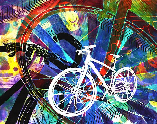 Bike Drawing On Risd Portfolios