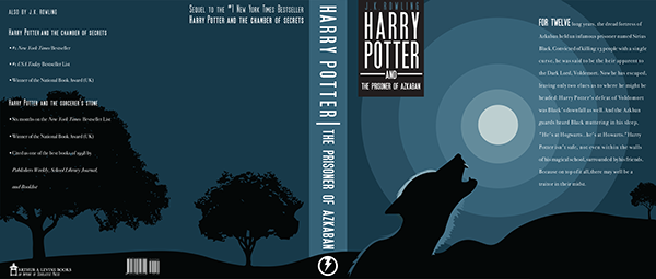 Harry Potter Book Jackets : Harry potter book jacket designs on behance